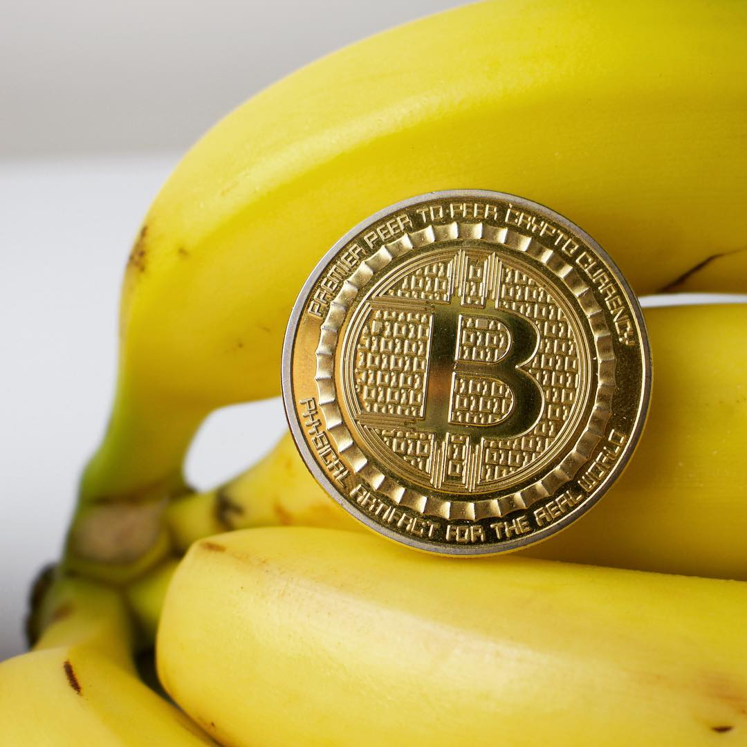 bitcoin banana platano