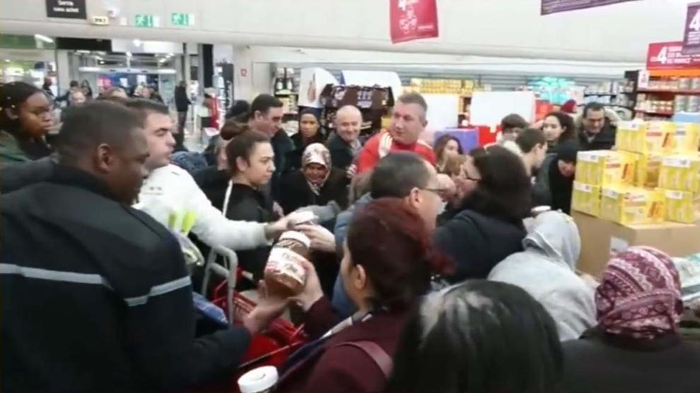 nutella caos en supermercados