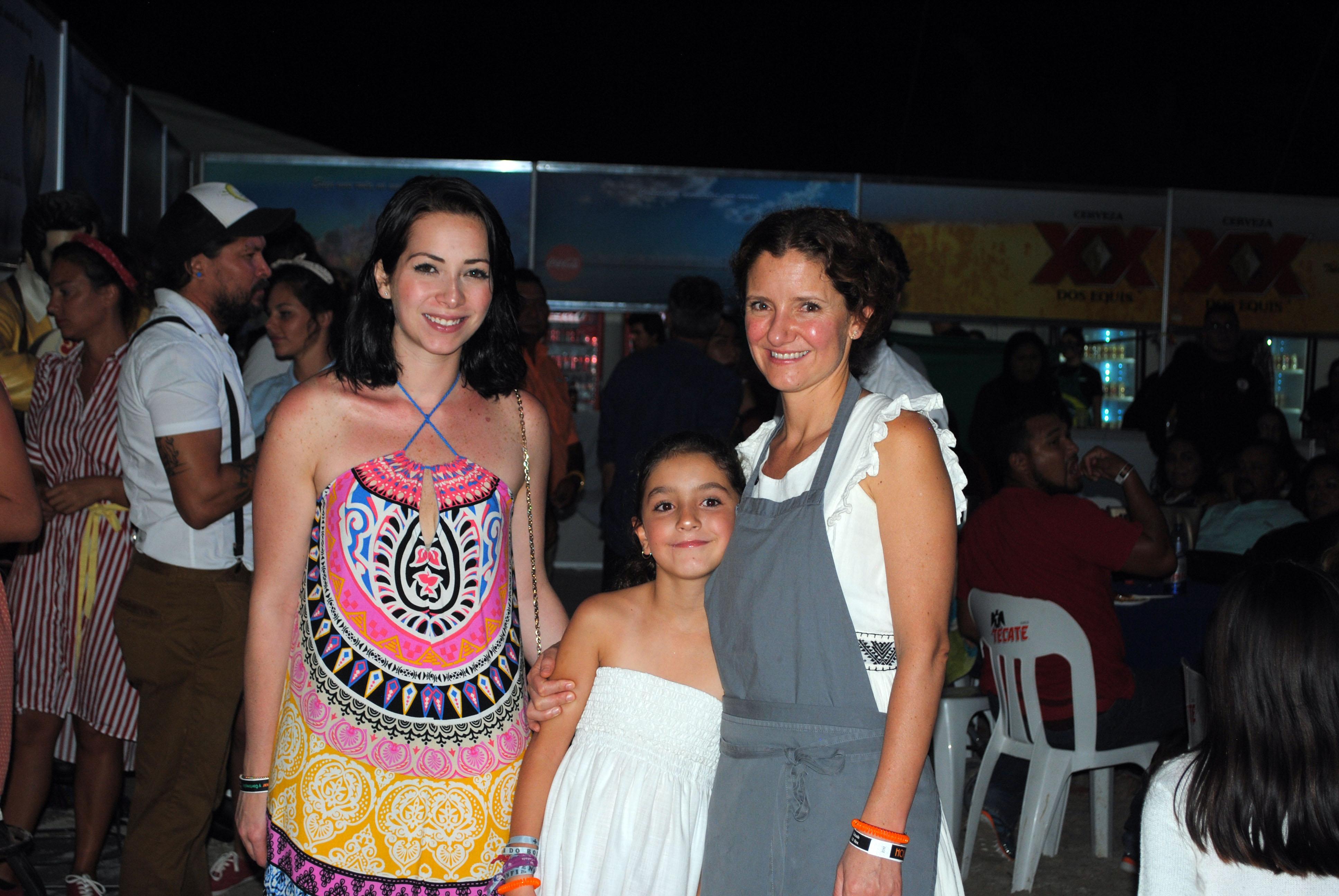 Chef Elena Reygadas y su hija